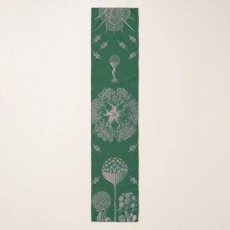 Haeckelの緑 スカーフ