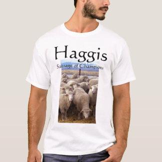 Haggisのチャンピオンのソーセージ Tシャツ