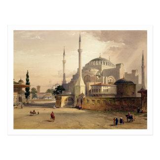 Haghia Sophiaのプレート17: mosqの外観 ポストカード