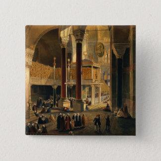 Haghia Sophiaのプレート8: 帝国ギャラリーおよびb 5.1cm 正方形バッジ