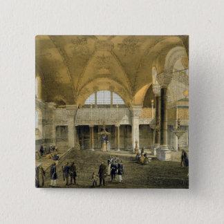 Haghia Sophiaのプレート9: 新しい帝国ギャラリー、 5.1cm 正方形バッジ