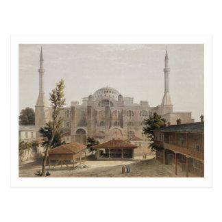 Haghia Sophia、コンスタンチノープルのパブ。 1852年(色l ポストカード
