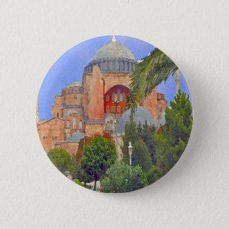 Hagia Sophia 5.7cm 丸型バッジ