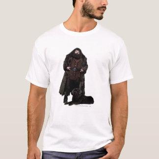 Hagridおよび犬 Tシャツ