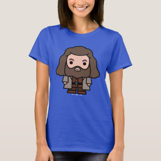 Hagridのマンガのキャラクタの芸術 Tシャツ