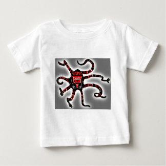 Haidaのタコ ベビーTシャツ