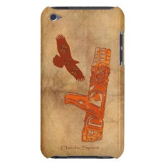 Haidaのワシ及びトーテムポールの先住民の芸術 Case-Mate iPod Touch ケース