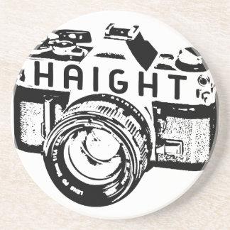 Haightのカメラのロゴのコースター コースター
