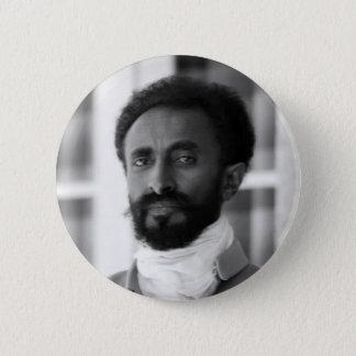 Haile Selassie 5.7cm 丸型バッジ
