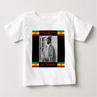 Haile Selassie Judah、Jah Rastafariのライオン ベビーTシャツ