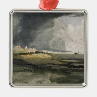 Hailsham、サセックス: 近づく嵐1821年(と メタルオーナメント