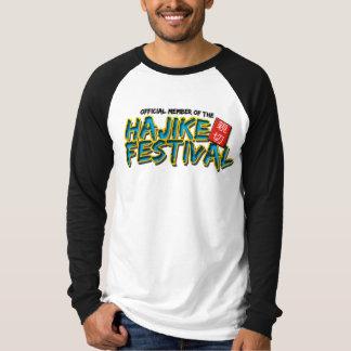 Hajikeのフェスティバルの公式のTシャツ2 Tシャツ