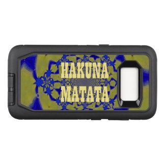 Hakunaあなた自身のカラフルなMatataのかわいいかわいらしい作成して下さい オッターボックスディフェンダーSamsung Galaxy S8 ケース