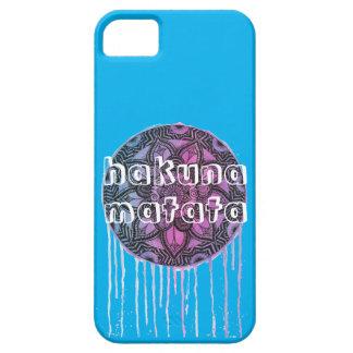 hakunaのmatataの曼荼羅の電話箱 iPhone SE/5/5s ケース