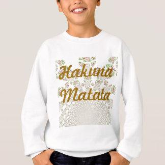 Hakunaのmatataはスエットシャツをからかいます スウェットシャツ