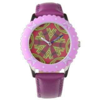Hakuna刃の鋭いMatataの紫色の腕時計 腕時計