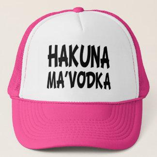 Hakuna Maのウォッカのおもしろいな帽子 キャップ