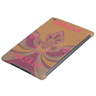 Hakuna Matataのメリークリスマスの美しいハートのデザイン iPad Airケース