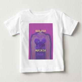 Hakuna Matataのメリークリスマス愛Design.jpg ベビーTシャツ
