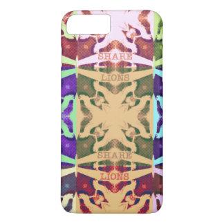 Hakuna Matataのライオンの文字 iPhone 8 Plus/7 Plusケース