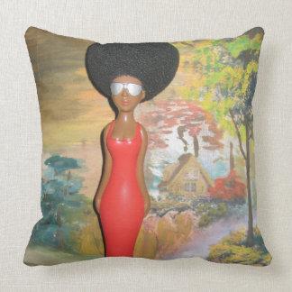 Hakuna Matataの美しくかわいい赤 クッション