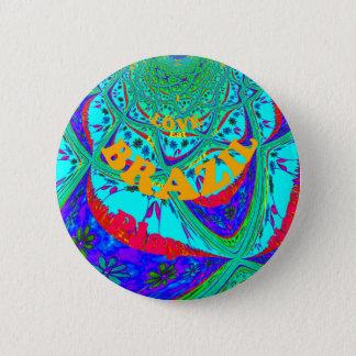 Hakuna Matataブラジルのフェスティバルcolors.png 5.7cm 丸型バッジ