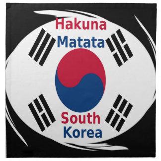 Hakuna Matata南朝鮮 ナプキンクロス