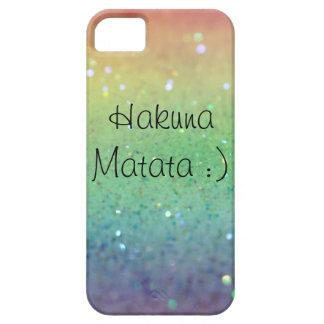 Hakuna Matata-の虹の輝き(iPhone 5/5s) iPhone SE/5/5s ケース