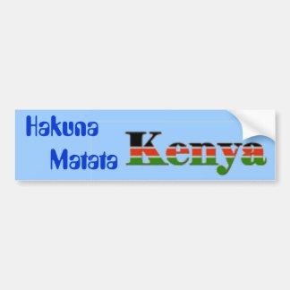 Hakuna        Matata バンパーステッカー