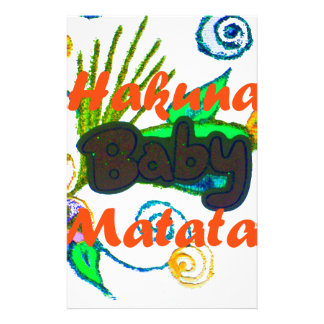 Hakuna Matata Baby.png 便箋