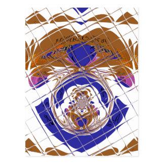 Hakuna Matata I愛エチオピア色design.png ポストカード