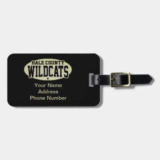 Hale郡の高等学校; 山猫 ラゲッジタグ