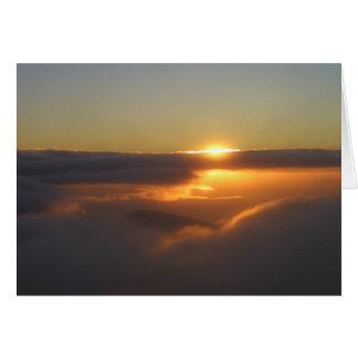 Haleakalaの日の出 カード