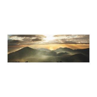 Haleakalaの日の出 キャンバスプリント