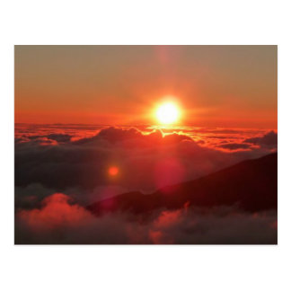 Haleakalaの日の出 ポストカード