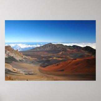 Haleakala山 ポスター