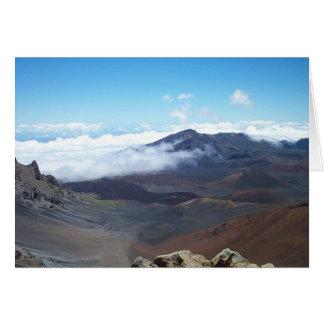 Haleakala カード