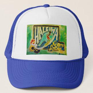 Haleiwaハワイのフラのアロハトラック運転手の帽子オアフ キャップ