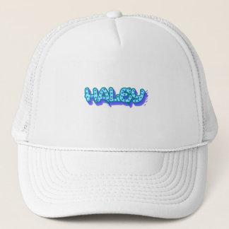 Haleyの落書きのトラック運転手の帽子、帽子 キャップ