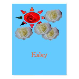 Haley ポストカード