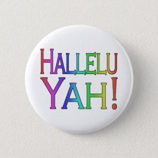 Hallelu Yah! (虹) 5.7cm 丸型バッジ