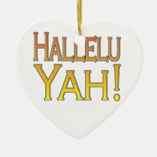 Hallelu Yah! (金ゴールド) セラミックオーナメント