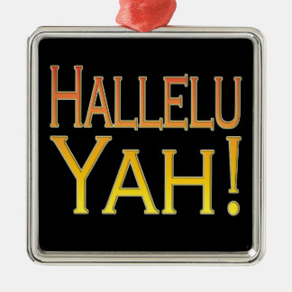 Hallelu Yah! (金ゴールド) メタルオーナメント
