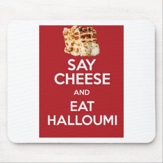 HALLOUMIのギリシャ人のチーズを食べて下さい マウスパッド
