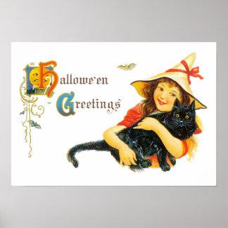 Hallowe'enの挨拶 ポスター