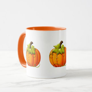 Halloween/Autumn Pumpkin Mug マグカップ