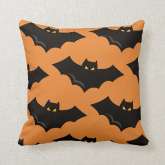 Halloween Bat Throw pillow クッション