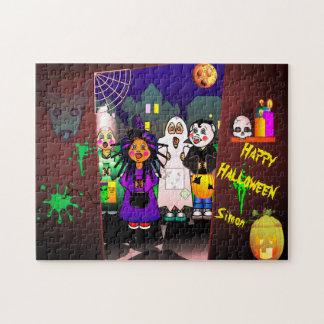 Halloween Children Tick Or Treating ジグソーパズル