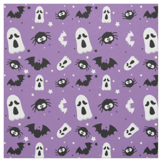 Halloween cute pattern ファブリック