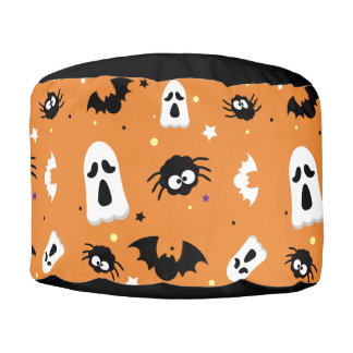 Halloween cute pattern プーフ